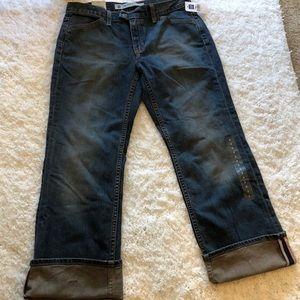 Gap Women's Low Rise Stretch Cropped Jeans Sz 8